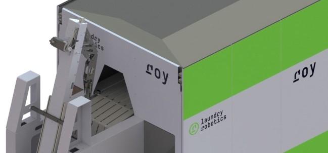 Introductie nieuwe handdoekrobot door Laundry Robotics